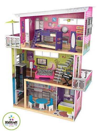 KidKraft Modern Mansion Dollhouse with Lights and Sounds by KidKraft