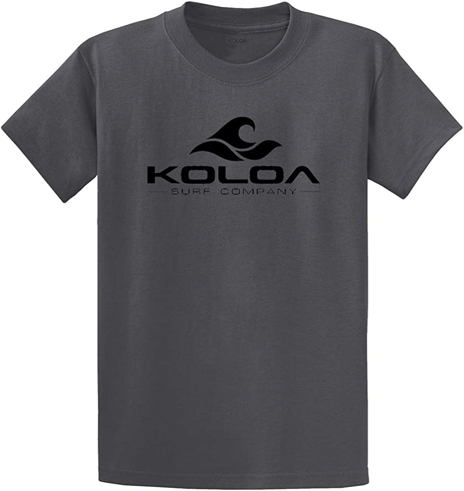 Koloa Surf Co Wave Logo Cotton T-Shirts in Regular Big and Tall Sizes