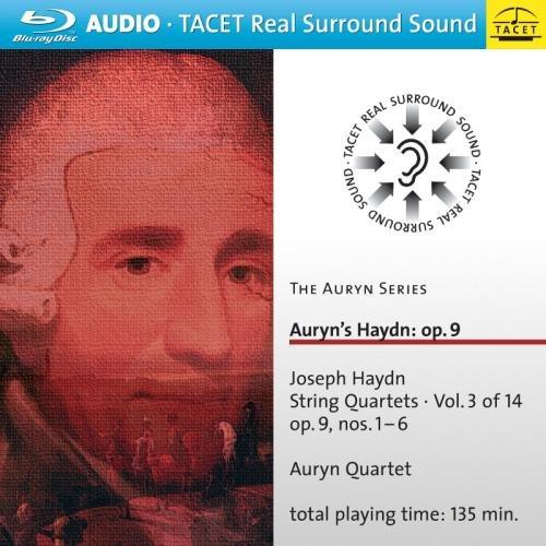 Auryn Quartett - Auryn Series: Auryn\'s Haydn 3: Op. 9 / Nos. 1-6 (Blu-ray Audio)