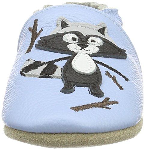 Rose & ChocolatDoggy - pantuflas de aprendizaje Bebé-Niñas Beige - Beige (Taupe)