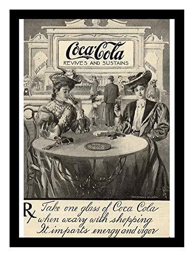 Amazon com: 8 x 10 Photo Print Coca Cola Revives Sustains Ad