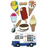 Jolee's Boutique Dimensional Stickers,  Ice Cream