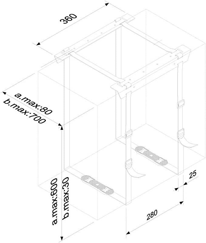 NewStar PC Soporte de Mesa Negro CPU-D025BLACK 20kg: Amazon.es ...