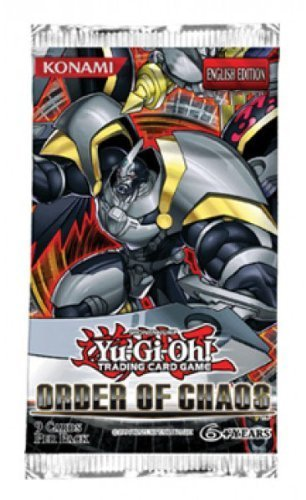 Konami YuGiOh Order of Chaos Booster Pack [1st Edition]