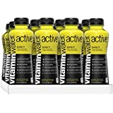 vitaminwater active Pump It, Lemon Lime Flavored Sports Drink, 15.2 Fluid Ounce (Pack of 12)
