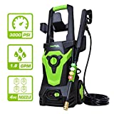 PowRyte Elite 3000 PSI 1.80 GPM Electric Pressure Washer, Electric Power Washer