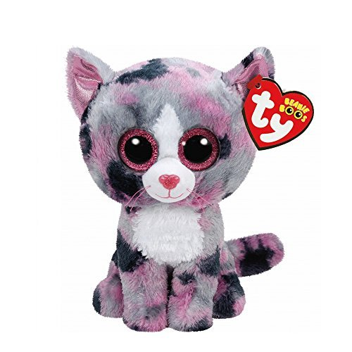 Claires Accessories Ty Beanie Boos Small Lindi The Kitten Plush Toy