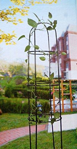 Rank-Obelisk Rosenbogen aus Metall