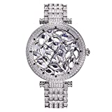 Swarovski Crystal Accented Women's Designer Watch. A ONE OF A KIND - Galaxy of Stars! BEST SELLER. Silver Tone. UW606561