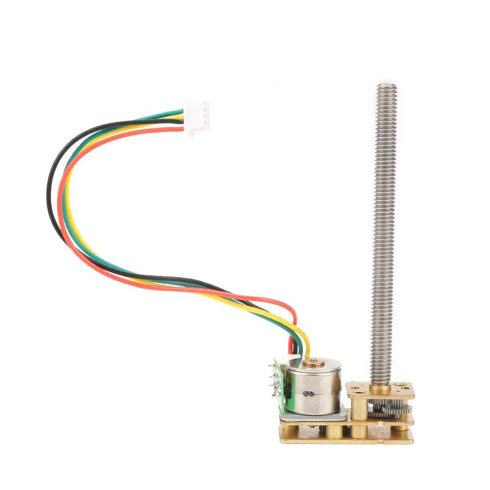 10mm 5V 2-phase 4-wire Stepper Motor Micro Mini Stepping motor 13T Metal Gear