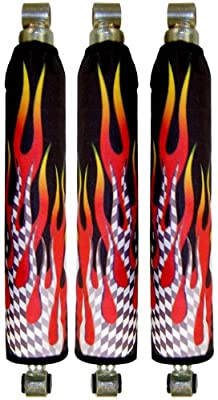 Gradiant Flame Shock Covers Suzuki LTR450 LTR 450