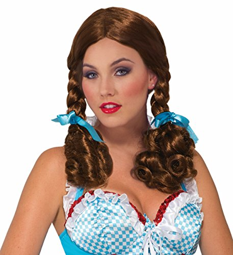 Girls Dorothy Wig (Forum Novelties Farm Girl Dorothy Wig Costume Accessory)