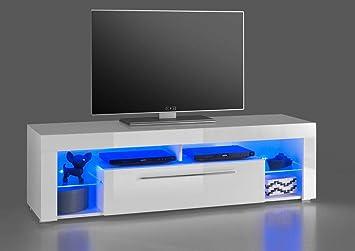 Lowboard Goal 116829 Tv Möbel Fernsehmöbel Tv Untergestell Weiß