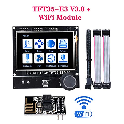 PoPprint BIGTREETECH TFT35-E3 V3.0 Touchscreen-kompatibles 12864LCD-Display + WiFi-Modul 3D-Druckerteile für Ender3 CR-10 SKR V1.3 MINI E3