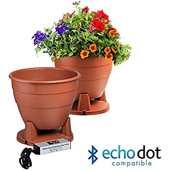 CAN ALSO BE PAINTED PLANTER SPEAKER IN TERRA COTTA