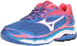 Mizuno Women's Wave Inspire 13 Running Shoe, Malibu Bluepink, 8.5 B Us