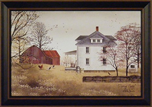 Spring fever by billy jacobs farmhouse farm red barn