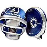 RIVAL Boxing RPM100 Pro Punch Mitts - Blue/Silver