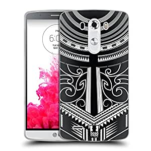 Head Case Designs Body Art Samoan Tattoo Soft Gel Case for LG G3 / D855 / D850 / D851
