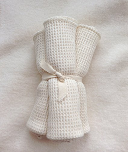 Perfect Baby Wash Cloths, Gentle Texture for a Baby's Skin - MADE IN THE USA - Certified Organic -