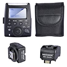 Neewer MK-300 TTL LCD Flash Speedlite for Sony A7/A7R/A7S A6000 A3000 NEX-6 NEX-7 A33 A35 A37 A57 A58 A77 A77II A99 Cameras