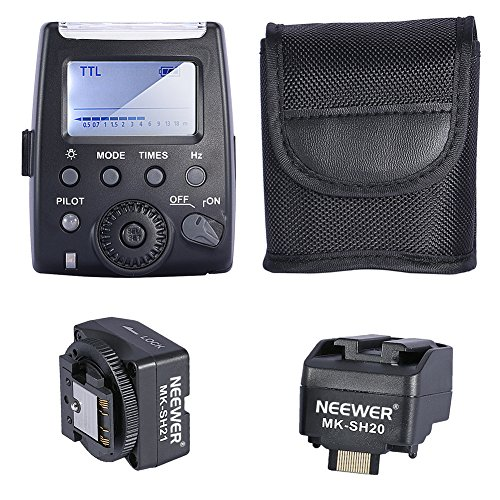 Neewer MK-300 TTL LCD Flash Speedlite for Sony A7/A7R/A7S A6000 A3000 NEX-6 NEX-7 A33 A35 A37 A57 A58 A77 A77II A99 Cameras (Sony Accessories A57)