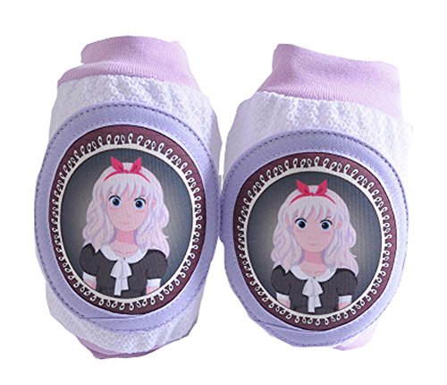 [One Pair Cute Little Princess Child Knee Elbow Pads Crawling Protector] (Child Cheese Costumes)