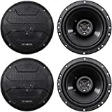 (4) Hifonics ZS653 6.5' 1200 Watt Car Stereo Coaxial Speakers
