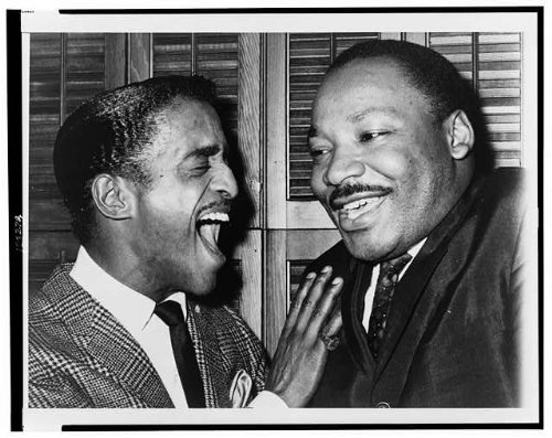 Infinite Photographs Photo: Martin Luther King Jr,Sammy Davis Jr,Majestic Theater