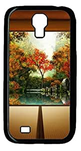 Autumn In Japan Custom Designer Samsung Galaxy S4 SIV I9500 Case Cover - Polycarbonate - Black