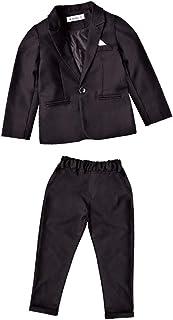 XFentech Bambino Ragazzo Abito - Formale Bambini Ragazzo Eleganti Abiti Cerimonia Set Blazer Pantaloni 2 Pezzi