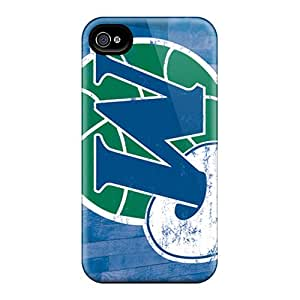 Protective Tpu Case With Fashion Design For Iphone 4/4s (nba Hardwood Classics)