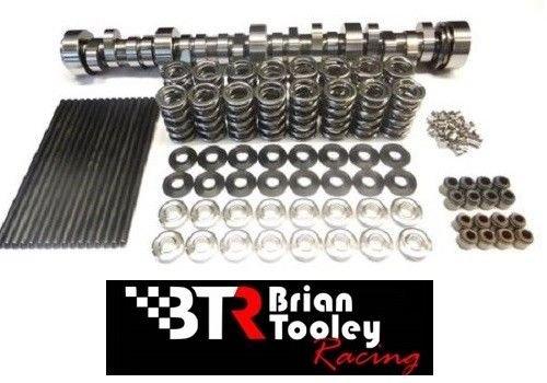 BRIAN TOOLEY BTR Turbo LS Stage 3 Cam, Spring Kit with Titanium Retainers and Chromoly Pushrods - LS1 LS2 LS3 LQ4 LQ9 LM7 4.8 5.3 6.0 6.2
