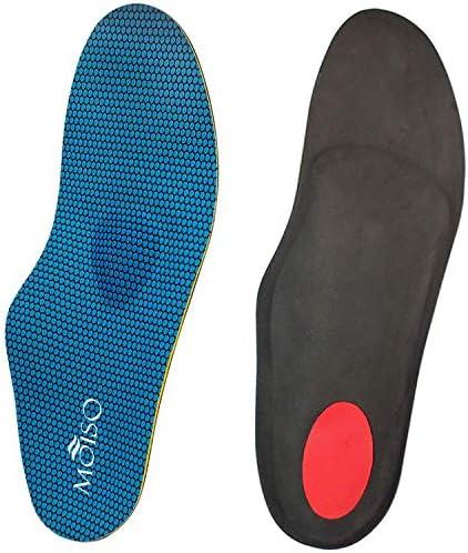 MOISO Einlegesohle Hohe Fußstütze Weiche Medizinische Funktionelle Orthesen Einlegesohle, Insert für Plattfüße, Plantar Fasciitis, Fußschmerzen