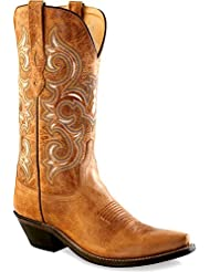 Old West Womens Rustic Western Boot Snip Toe - Lf1541