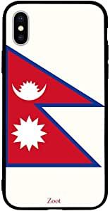 iPhone XS Max / 10s Max Case Cover Nepal Flag Zoot High Quality Design Phone Covers