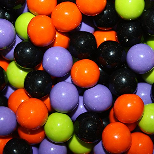 FirstChoiceCandy Sixlets Milk Chocolate Balls (Halloween Mix, 1 LB)