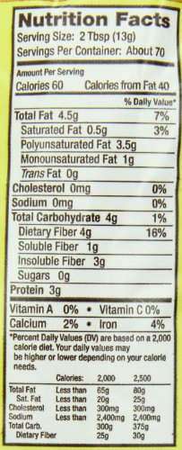 Bob's Red Mill Organic Brown Flaxseed Meal, 32 Ounce (Pack of 4) (Package May Vary) by Bob's Red Mill (Image #2)
