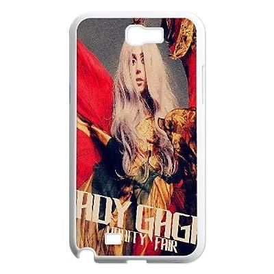 DIY Lady Gaga Phone Case for SamSung Galaxy note2 n7100, Lady Gaga Note2 Cell Phone Case, Customized Lady Gaga n7100 Case