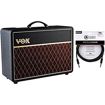 vox ac10 10 watt tube electric guitar combo amplifier w cable musical instruments. Black Bedroom Furniture Sets. Home Design Ideas