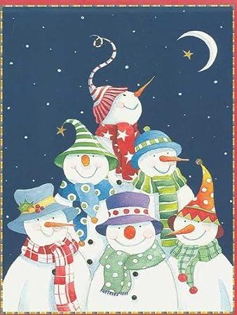 Amazon.com: Frosty muñecos de nieve tarjetas de Navidad ...