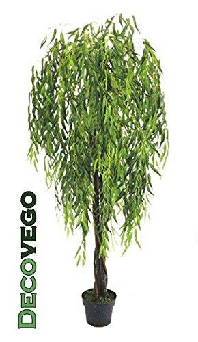 Amazon De Decovego Weide Weidenbaum Kunstpflanze Kunstbaum
