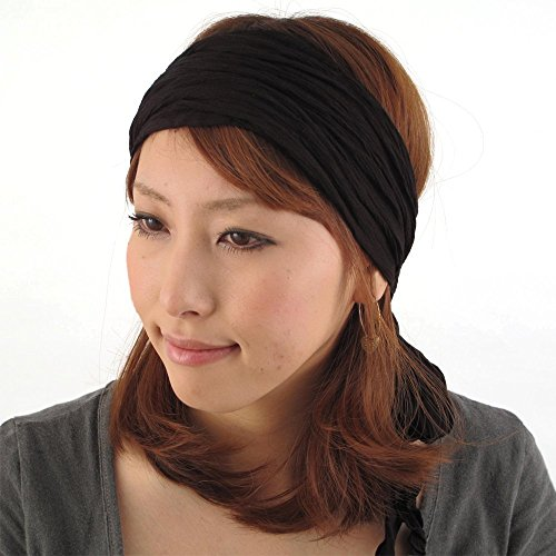 CHARM Casualbox | Womens Head Scarf Turban Wrap Festival Retro Hair Accessory - Retro Festival