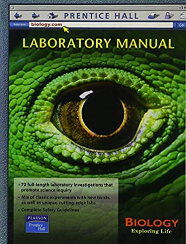 amazon com biology exploring life laboratory manual 9780130642660 rh amazon com