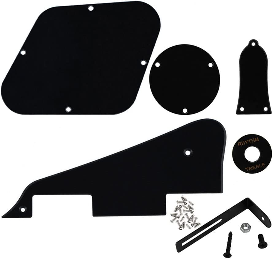 10pcs Pickguard Bracket with Screws Closed End Black for Gibson//epiphone Repalcement
