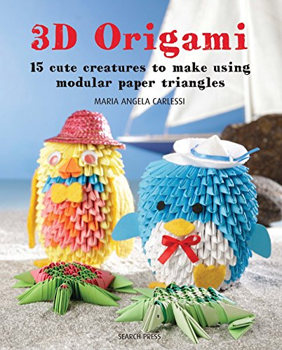 3D Origami: 15 cute creatures to make using modular paper triangles ()
