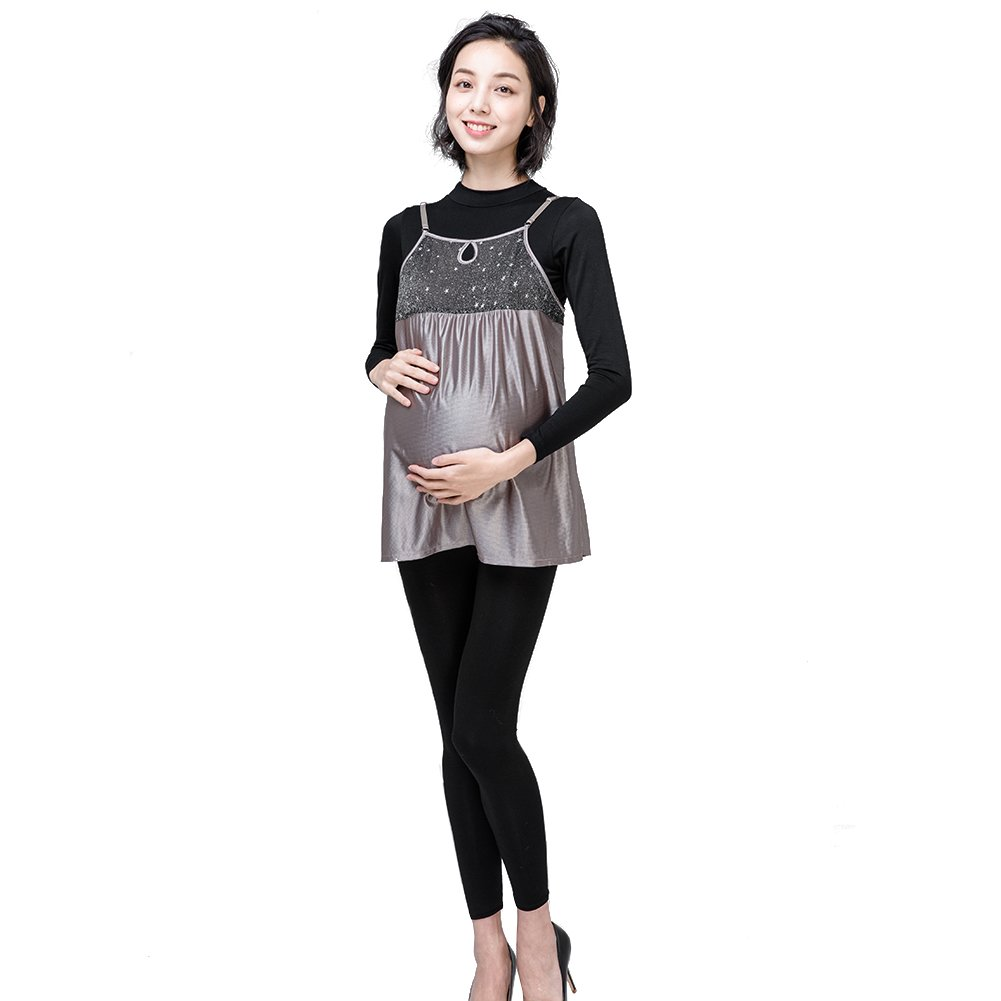 Anti-Radiation Dress Maternity Women Top Pregnant Protection Shield Clothes
