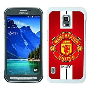 Fashionable Samsung Galaxy S5 Active Case ,Unique Designed With Manchester United 1 white Samsung Galaxy S5 Active Cover High Quality Phone Case