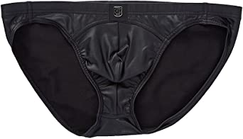 Gregg Homme Crave Faux Leather Boxer with Detachable Pouch 152615