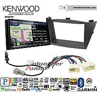 Volunteer Audio Kenwood DNX874S Double Din Radio Install Kit with GPS Navigation Apple CarPlay Android Auto Fits 2010-2013 Hyundai Tucson